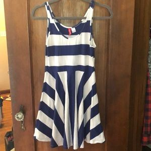 H&M Divided striped dress, size 6